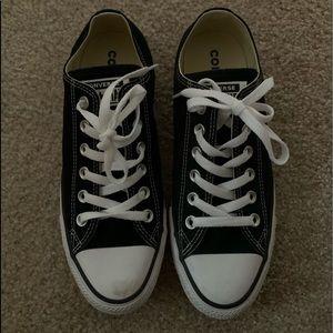 size 8 black converse